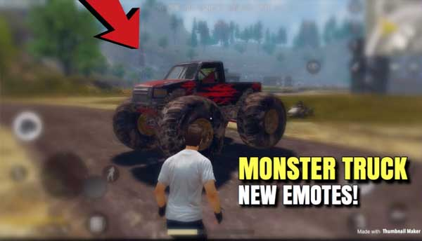 PUBG Mobile 0.19.0 adds Monster Truck to the list of vehicles