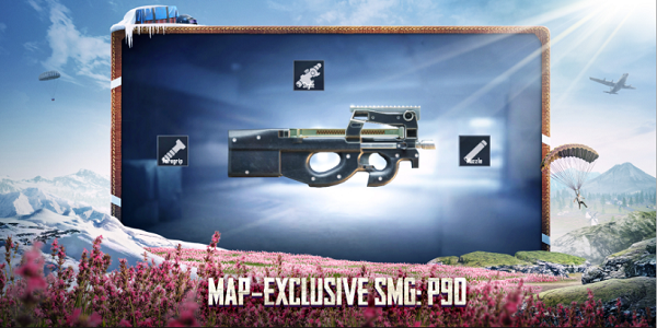 Map-exclusive SMG: P90