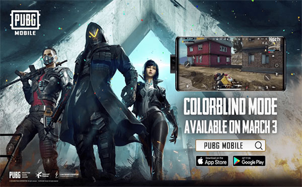 PUBG Mobile More Interesting With Colorblind Mode