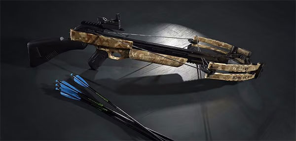 PUBG Mobile crossbow