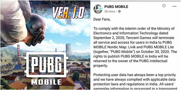 Explanation by PUBG Corporation