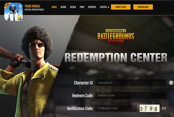 Change Code in Redemption Center