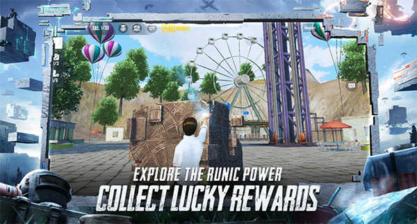 Explore the Runic Power to collect lucky rewards