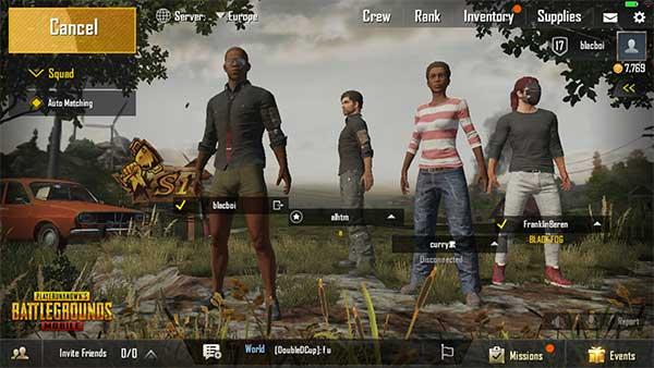 Duo/Squad Mode in PUBG Mobile