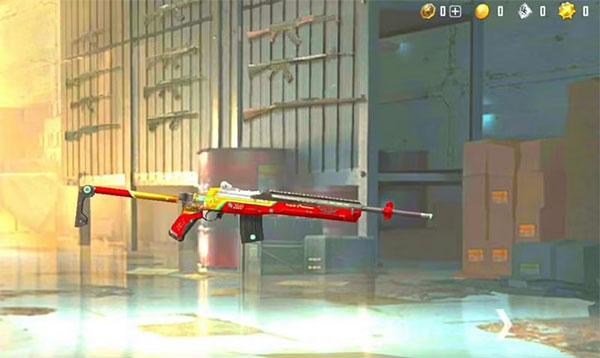 Fearless Charge - Mini14 - a lightweight semi-automatic rifle