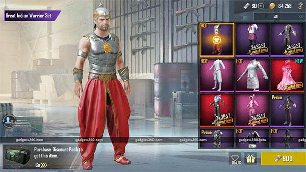 Bahubali in PUBG Mobile