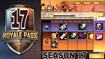 PUBG Mobile Season 17 Release Date