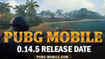 PUBG Mobile 0.14.5 Release Date