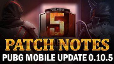 Explore PUBG Mobile Update 0.10.5 Now!